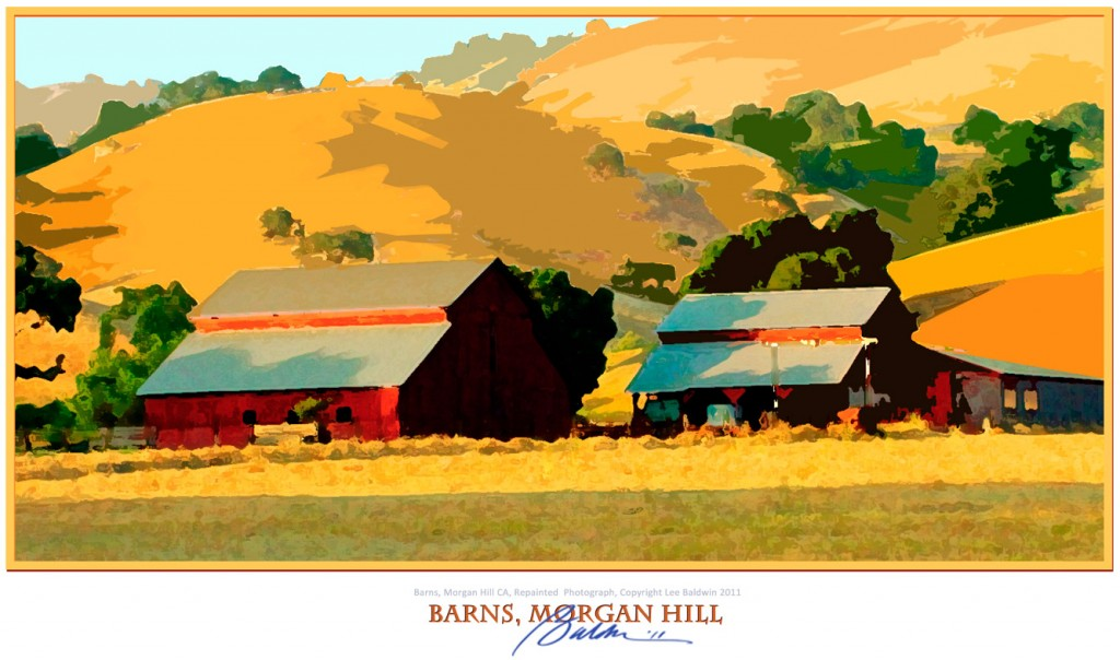 Barns, Morgan Hill CA