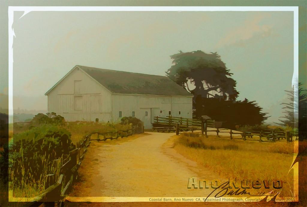 Coastal Barn, Ano Nuevo, CA