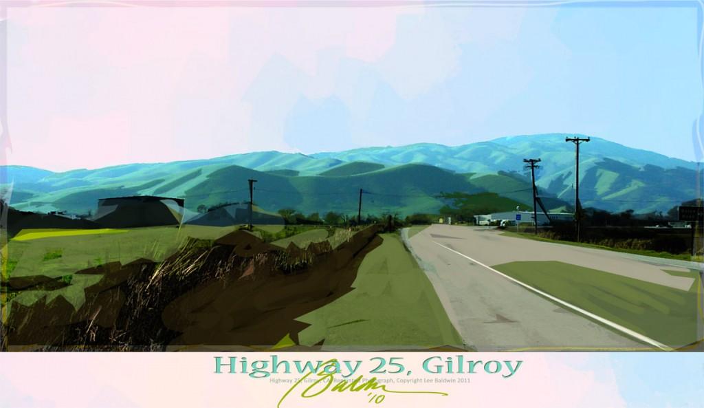 Highway 25, Gilroy, CA